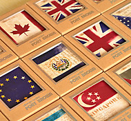 National Flag Design Postcard(40 PCS)