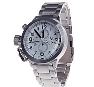 SPEATAK 60114G Stylish Men's Quartz Analog Wrist Watch with Simple Calendar (1x LR626)