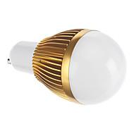 Lâmpada Redonda GU10 3 W 143 LM 2190 K Branco Quente COB AC 85-265 V