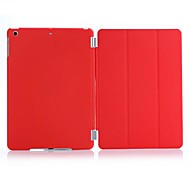 Solid Color  PU Leather Case with Detachable Smart Case Cover  for iPad Air (Assorted Colors)