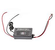 Controlador Termostato W1711 precisión del microordenador interruptor de control de temperatura (Negro, 12V)