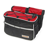 Bike Frame Bag / Cycle Bag Waterproof / Quick Dry / Wearable / Shockproof Leisure Sports / Cycling/Bike Nylon Red