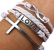 in mancanza d'amore incrociate braccialetti moda rose®8-word