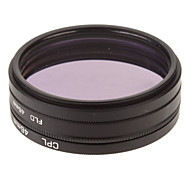 CPL + UV + FLD Filter Set for Camera with Filter Bag (46mm)