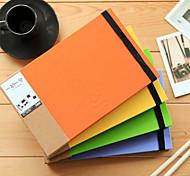 Carino Photo Album Hard Cover creativi Notebook (colori casuali, 1 libro)