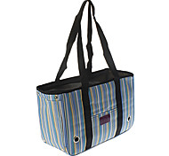 Lovely Bar Pattern Outdoor Carrier Bag for Pets Dogs