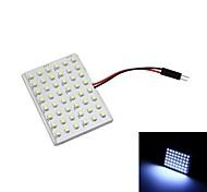 Merdia T10 4.8W 48 x 1210 SMD LED de luz blanca de la lámpara del coche de Lectura (par / 12 V)