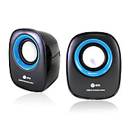 020 Bass Box altoparlante portatile per laptop / PC / PSP / Telefono