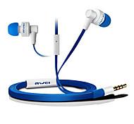 ES700i-awei Super Bass In-Ear avec micro et télécommande pour Mobilephone/PC/MP3