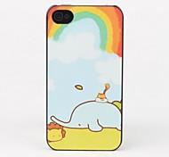 En-ciel et d'éléphant de protection pour iPhone 4/4S