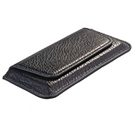 Flip Genuine Leather Case Cover Pouch voor iPhone 4S/5S/5C