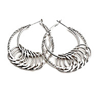 Fashion Circle Hoop Earrings