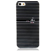 Black and White Pattern Cortina Voltar para o iPhone 5/5S