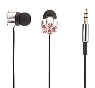 Winterblüte-Shaped Stereo-In-Ear-Kopfhörer