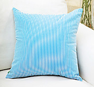 Classic Blue And White Striped Decorative Pillow With Insert