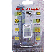 Nano SIM Card to Standard SIM Card Adapter