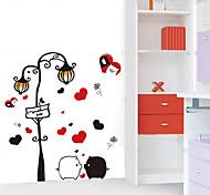 1PCS Colorful Black&White Pig Wall Sticker