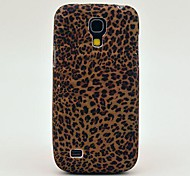 Patrón Mini Leopard Caso suave de la contraportada de la cubierta de TPU para Samsung Galaxy S4 Mini I9190