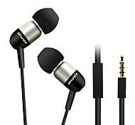 ESQ8i-awei Super Bass auricolare in-ear con microfono e telecomando per Mobilephone/PC/MP3
