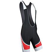 Santic Cycling Bib Shorts 82% Nylon+18% Spandex Professional with Soft 6D Pad C05044