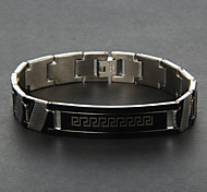 Eruner®Men's Silver Titanium Steel Bracelet