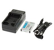 ismartdigi 1050mAh Camera Battery+Car Charger for NIKON S8200 S9100 S6000 S6200 S6300 S8100