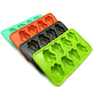 Novelty  Penguin Style Silicon Ice Cube Mould