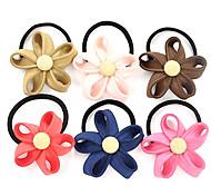 Sweet Style Flower Hair Ties