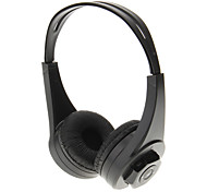 MD-333 High Quality On-ear Headphone Headset (Black)