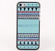 Blue Hakuna Matata Hard Back Case for iPhone 5C
