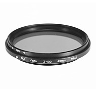 Rotatória ND Filtro para Câmera (49mm)