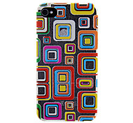 Special Colorful Pattern Back Case for iPhone 4/4S