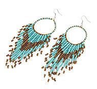 Bohemia Acrylic Bead Drop Earrings
