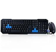 QISUNG QS-3000 2.4G Wireless Multimedia Keyboard & Mouse Kit