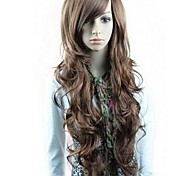 Synthetic Wigs Long Wavy Wigs Full Bang Wigs 3 Colors Available