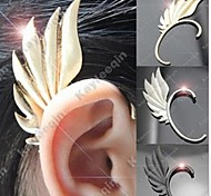 Punk (Flügelform) Alu-Ear Cuffs (Gold, Silber) (1 PC)