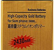 3.7V 2430mAh Ersatz-Lithium-Ionen-Akku für Samsung Galaxy S i9000