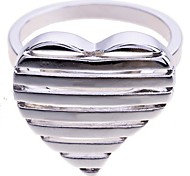 lureme®glossy anneau en forme de coeur