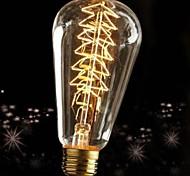 60W E27 ретро промышленность лампа накаливания Эдисон стиль