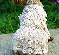 Lace Pattern Dress for Pets Dogs (Assorted Sizes)