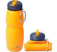 AceCamp Outdoor 650ml Multifunctional Foldable Silicone Water Bottle 1544