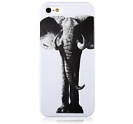 Case Elephant Pattern pour iPhone 5/5S