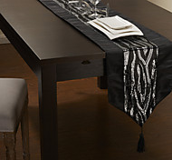 As per picture Polyester Table Runners