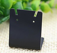 Fashion Acrylic Jewelry Display Stand for Earrings (Black) (10pcs)