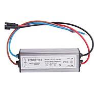 Waterproof IP66 (12-18)x1W LED Driver Power Source Converter (30-60V,300mAh)