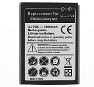 1500mAh Replacement Battery for Galaxy Ace/S5830
