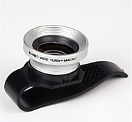 Universal Clip Wide Angle lens /Macro lens/ Kit Set for iPhone 5 /4 /iPad /Cellphone