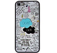 Beautiful Cartoon Style Interesting Things Patterns PC Hard Case for iPhone 5C