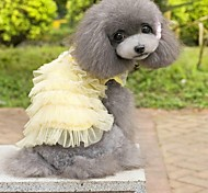 Lovable Serveral Layered Princess Dress in Summer For Pets Dogs