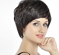Fashion  Hair  Short   Black   Hair   Wig